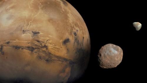 Marte e le sue lune: la nuova teoria sulla formazione