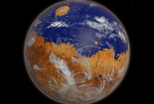 Marte: il sapore orribile dell'acqua nel cratere Gale
