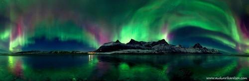 Aurora nel nord Europa: le conseguenze della tempesta magnetica