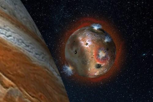 Io, l'incredibile collasso dell'atmosfera della luna di Giove