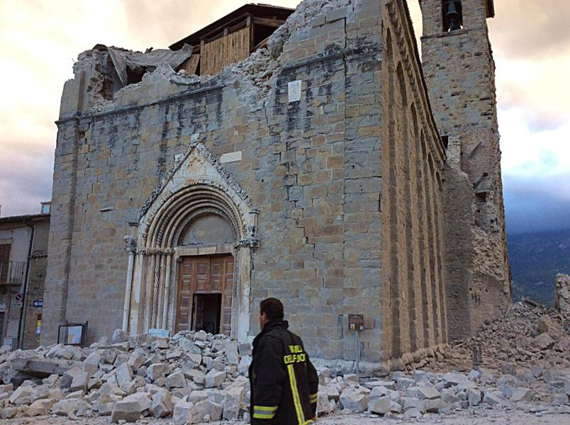 Terremoto centro Italia: i danni al patrimonio artistico