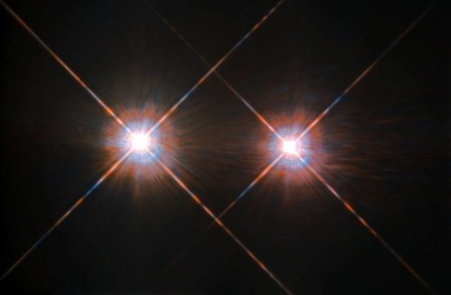 Alfa Centauri nell'incredibile scatto del telescopio Hubble