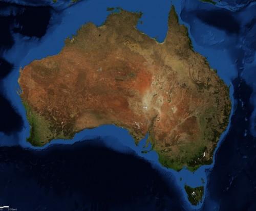 L'Australia si muove: necessarie correzioni al GPS