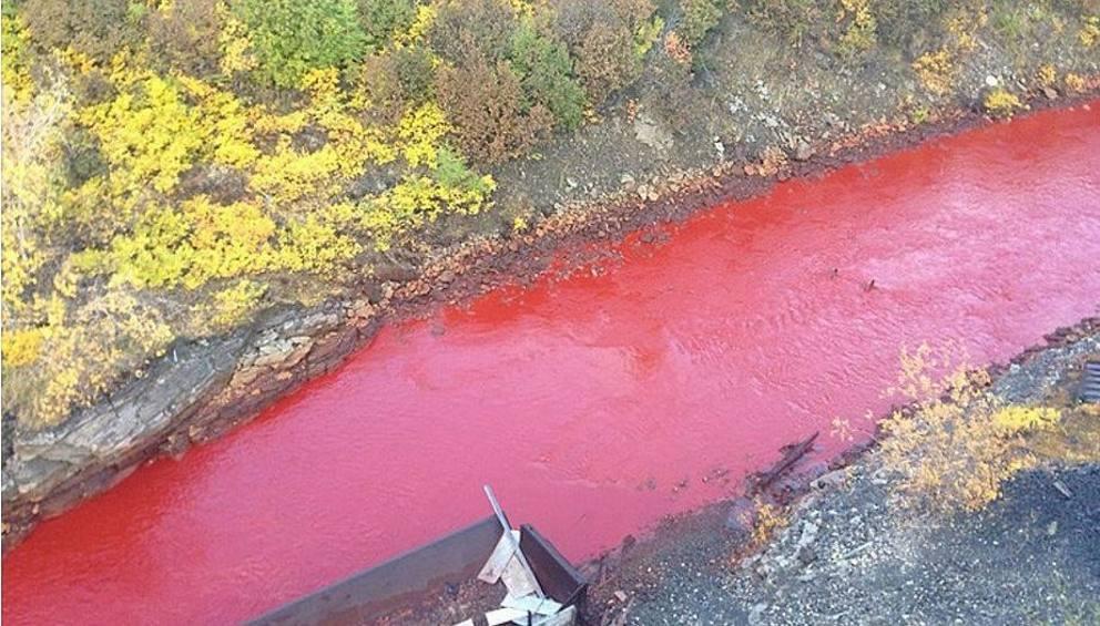Fiume rosso in Siberia: scoperta l'origine del fenomeno