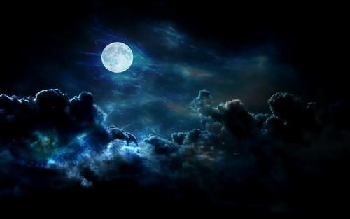 Luna Nera: l'evento astronomico di questa sera