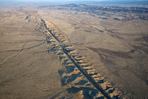 California: spunta nuova faglia accanto alla San Andreas