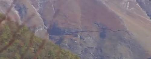 Terremoto Centro Italia: spaccatura sul colle dell'Infinito di Leopardi