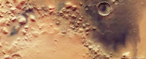 Marte: una strana depressione potrebbe ospitare la vita