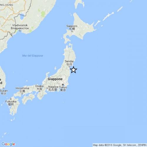 Giappone: forte terremoto, rischio tsunami a Fukushima