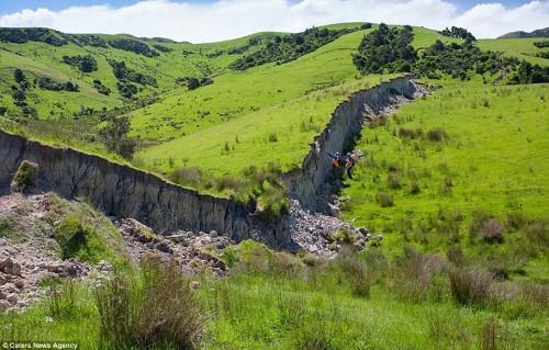 Nuova Zelanda: il terremoto ha creato un'enorme scarpata