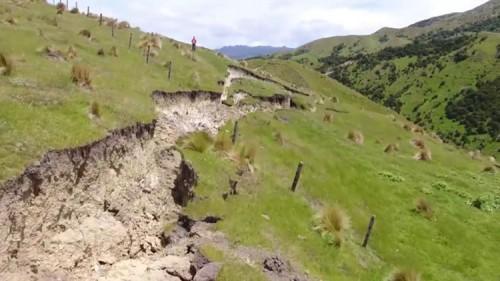 Terremoto Nuova Zelanda: le immagini impressionanti della faglia di Kekerengue