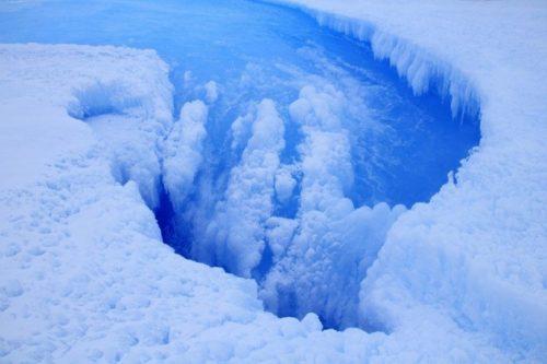 Antartide, risolto il mistero del cerchio nel ghiaccio