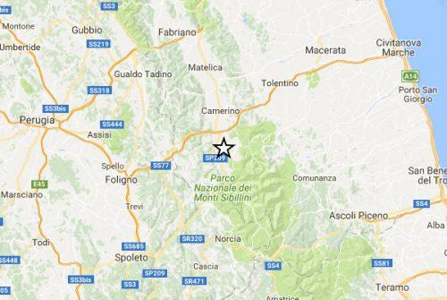 Terremoto: nuova significativa scossa nel Centro Italia, epicentro a Fiordimonte