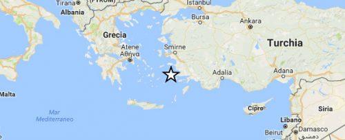 Terremoto in Grecia: tremano le isole del Dodecaneso