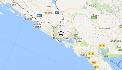 Terremoto in Montenegro: paura sulla costa adriatica