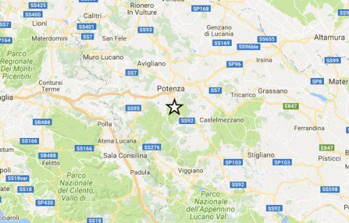Terremoto Potenza: scossa registrata in piena notte, paura tra la popolazione