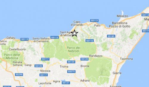 Terremoto Sicilia: trema la provincia di Messina