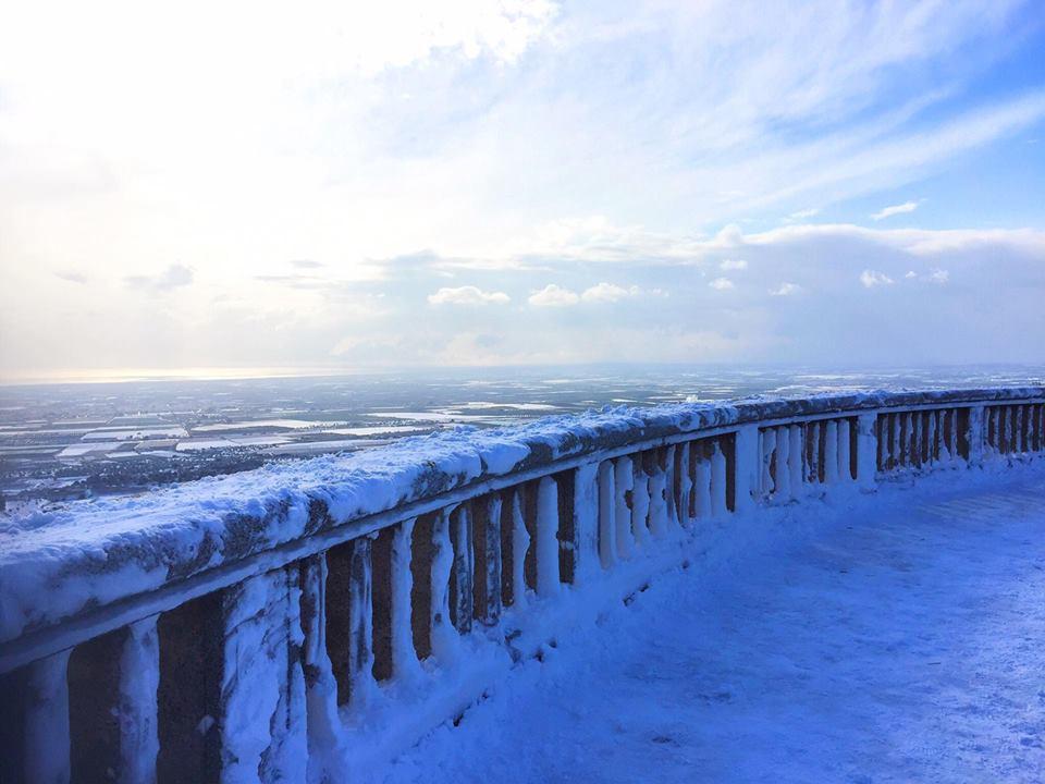 Neve Puglia, accumuli importanti in provincia di Taranto, nevicherà ancora per molte ore