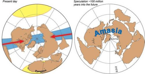 Amasia, il continente del futuro: come potrebbe essere la Terra tra milioni di anni