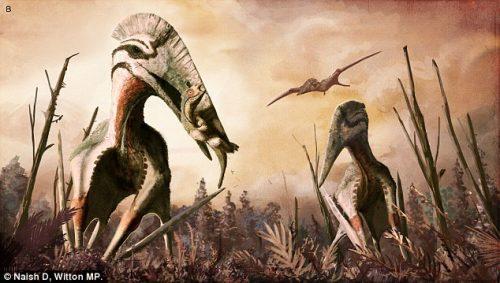 Paleontologia: in Romania i resti di un terrificante pterosauro volante