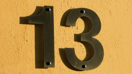 Numero 13 e la sfortuna: ecco la possible origine della credenza