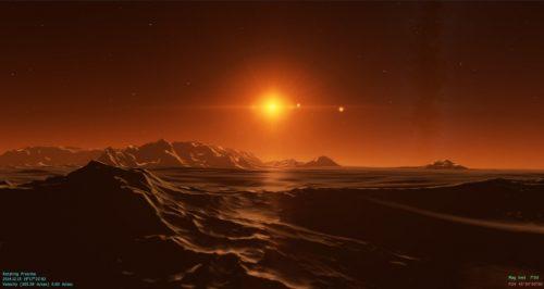 Proxima Centuari b, il gemello della Terra potrebbe essere un deserto
