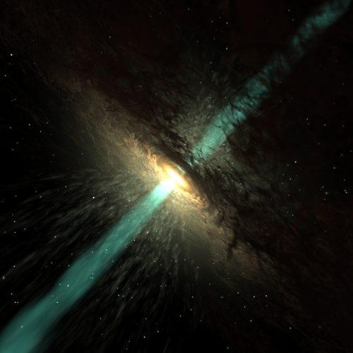 Spazio: oggetto misterioso nei pressi di un quasar, l'osservazione