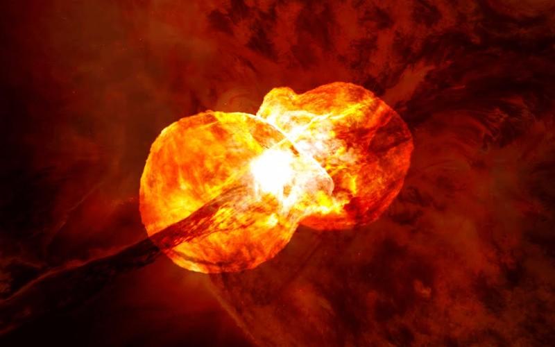 Spazio, nel 2022 si scontreranno due stelle: esplosione visibile dalla Terra