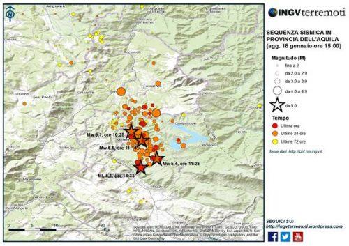 Terremoto, l'INGV: 'sequenza sismica incredibile'