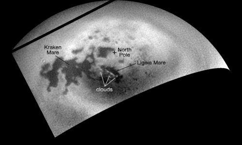Titano in arrivo nuvole di metano, i fenomeni osservati da Cassini