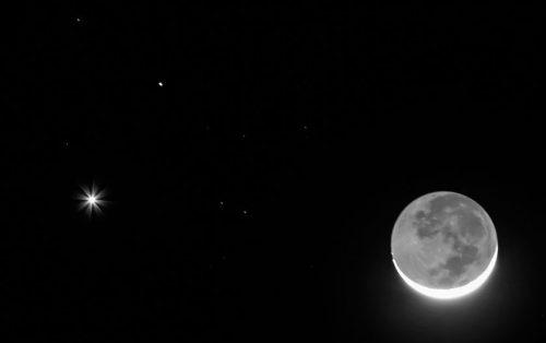 Congiunzione Venere, Marte e Luna: poche ore allo spettacolo