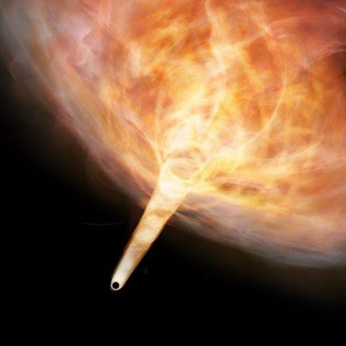 Buco nero errante nella nostra galassia: la scoperta