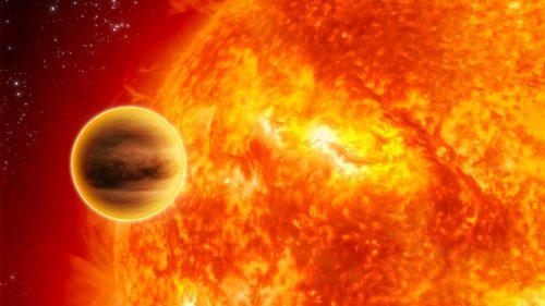 Acqua nell'atmosfera di Dimidium: l'esopianeta infernale