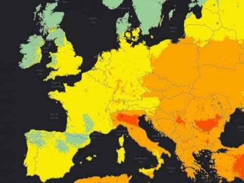 OMS: Italia paese con più alto inquinamento dell'Europa occidentale