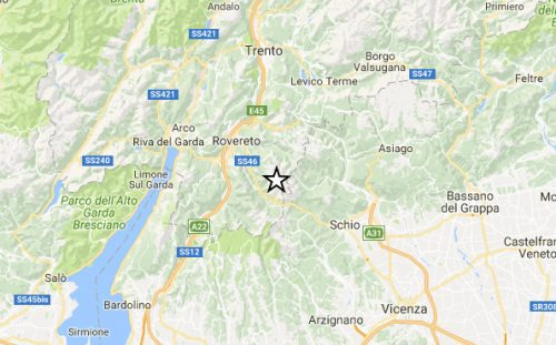 Terremoto al Nord Italia: paura in Trentino e Veneto