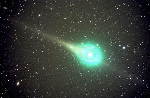 Spazio: la cometa verde al massimo avvicinamento alla Terra