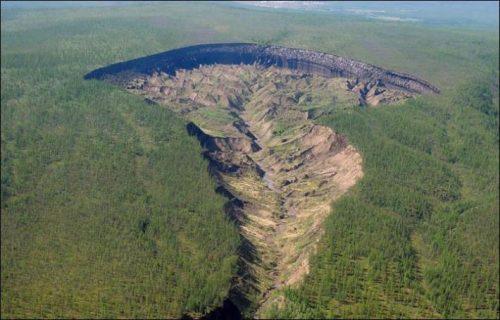 Siberia: la 'Porta dell'Inferno', il cratere di Batagaika