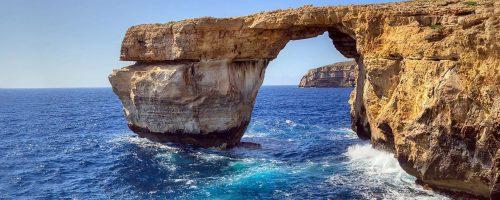 Maltempo: Malta dice addio alla 'Finestra Azzurra' uno dei simboli del paese