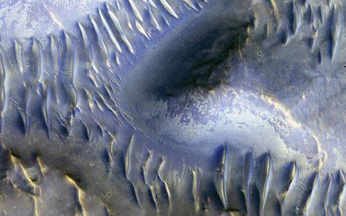Marte, il MRO festeggia il 50.000° giro con una foto spettacolare