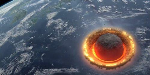 Asteroide: gli effetti immediati di un impatto in una ricerca