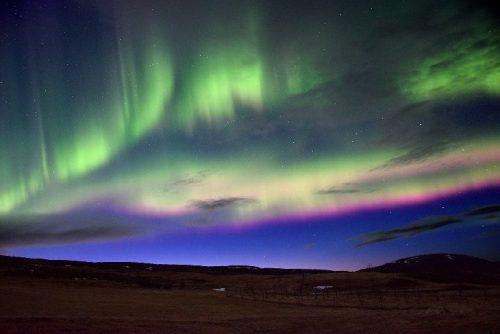 Aurore boreali regalano spettacolo in Nord Europa