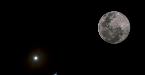 Luna Giove: la spettacolare congiunzione di questa sera