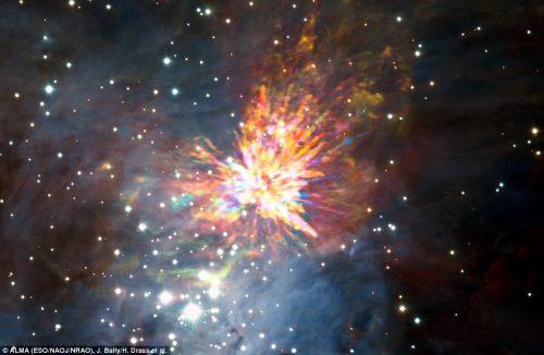 Costellazione di Orione: registrata una strana esplosione, il video