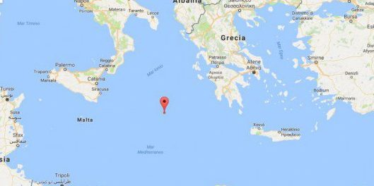 Terremoto Sicilia: scossa di 4.5 gradi Richter nello Ionio meridionale