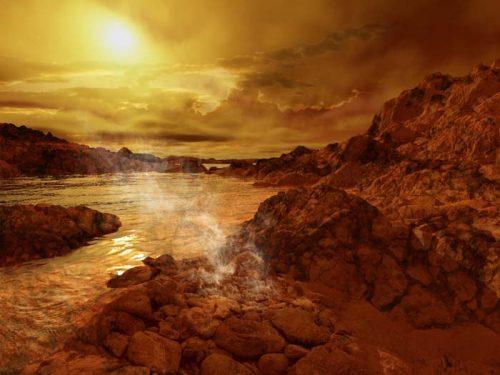 """Titano ha laghi e fiumi """"frizzanti"""": la scoperta"""