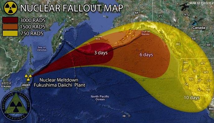 Radiazioni di Fukushima: ecco gli effetti sulla popolazione mondiale