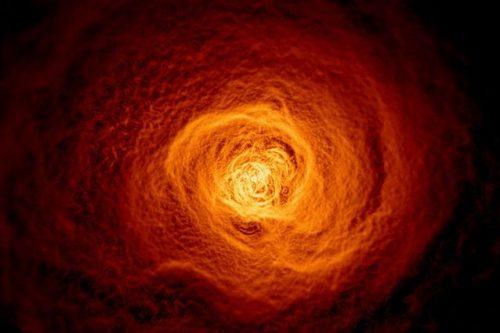 Enorme nube di gas rovente scoperta nello spazio