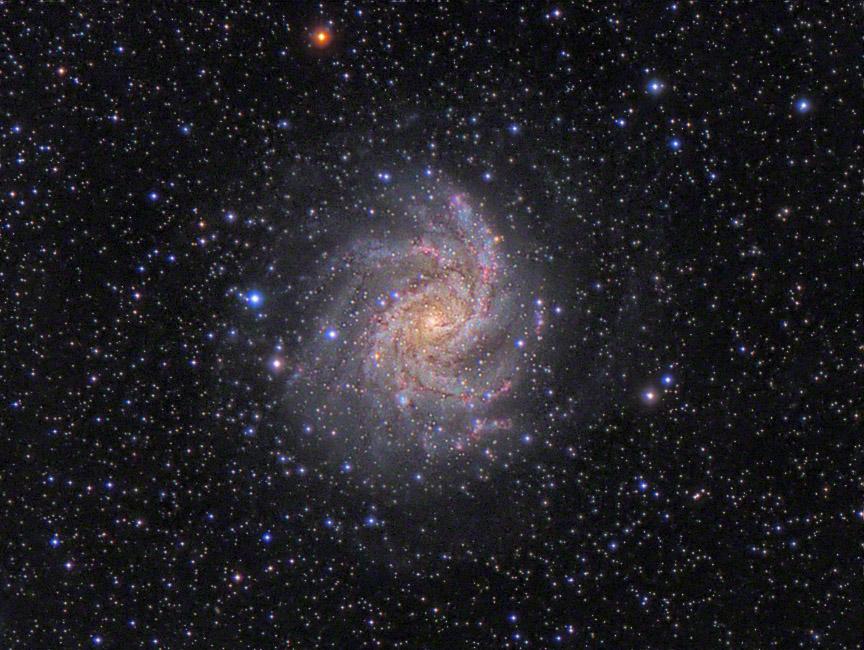 Spazio: la diretta del Virtual Telescope sulla supernova NGC 6946