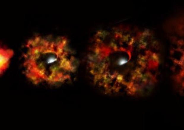 Spazio: stella si trasforma in buco nero senza esplosione