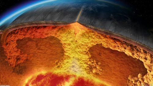Terra: scoperta enorme quantità di acqua nel mantello terrestre